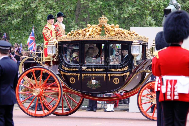 Casamento real 2011 imagem de stock