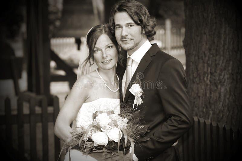 Casamento romântico imagem de stock