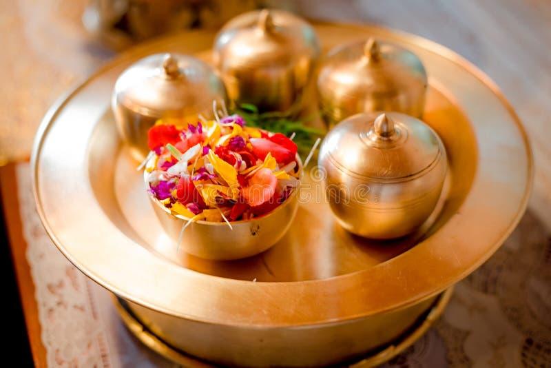Casamento tailandês fotos de stock royalty free