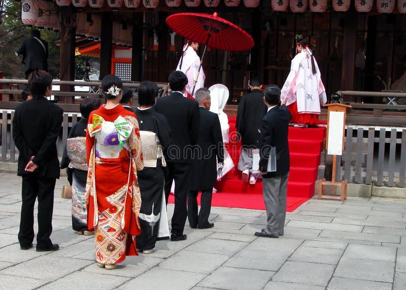 Casamento Xintoísmo Imagem de Stock Editorial