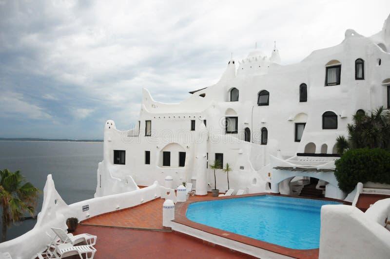 Casapueblo Punta del Este royalty-vrije stock afbeelding