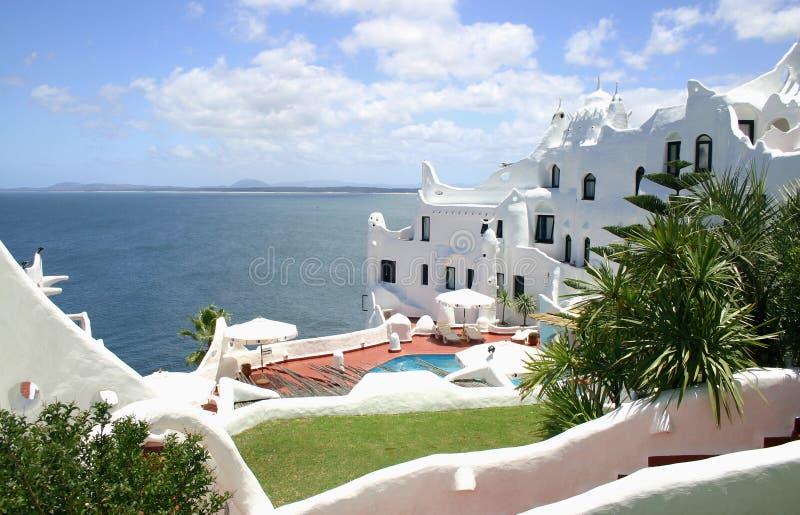The Casapueblo resort - Uruguay royalty free stock photo