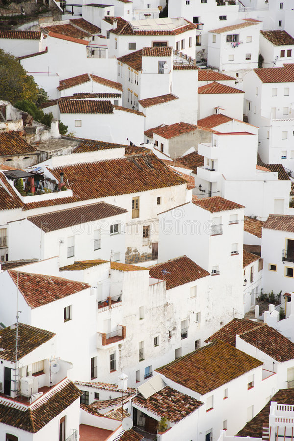 Casares, Espagne image libre de droits