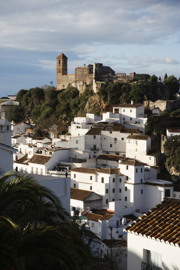 Download Casares, spain stock photo. Image of geography, european - 1601764