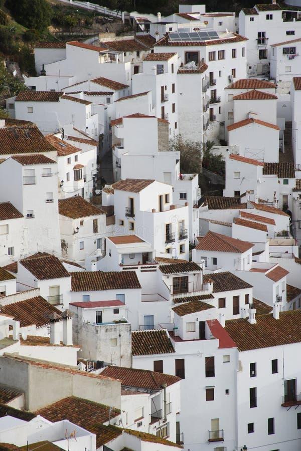 Casares, Spanien lizenzfreies stockfoto