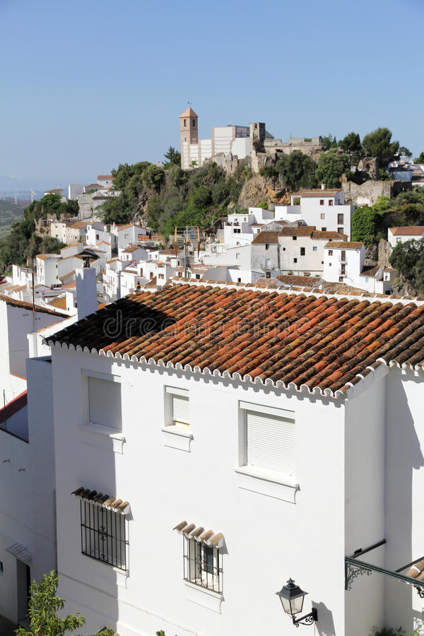 Download Casares village in Spain stock image. Image of distinctive - 25035501