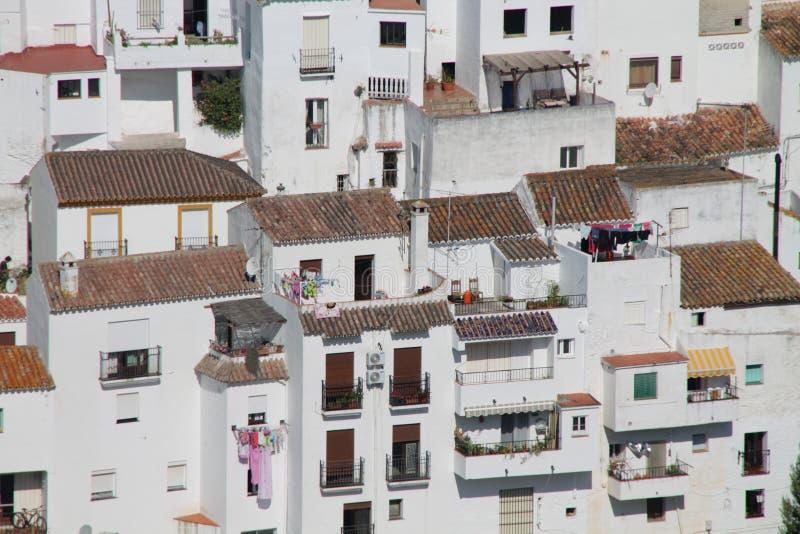 Casares w Andalusia fotografia stock