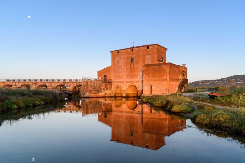 Casarossaximenes, tuscany, Italien arkivfoton