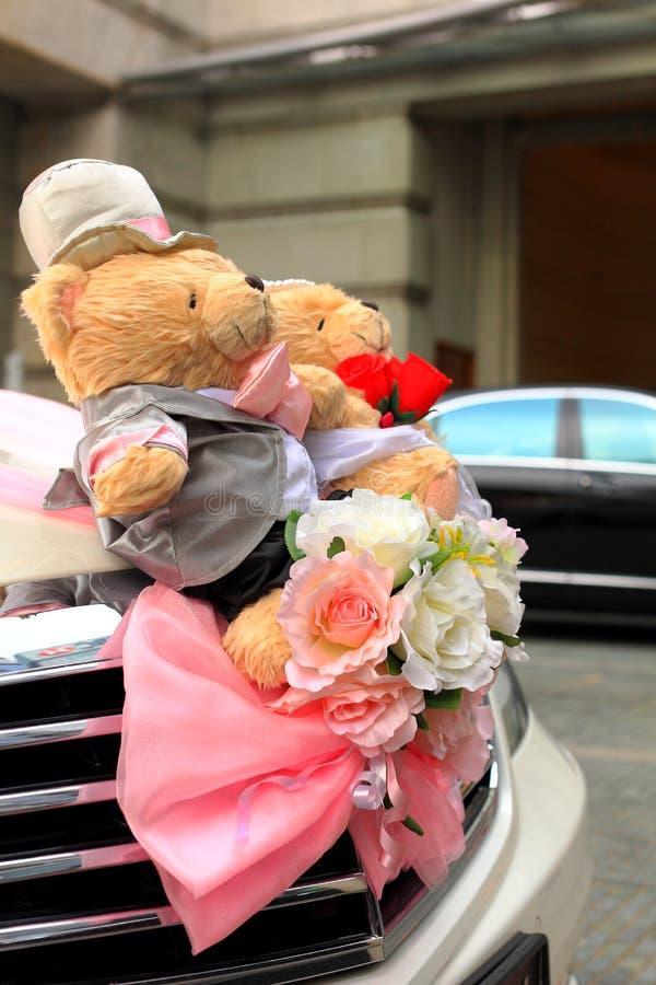 Casarse osos fotografía de archivo