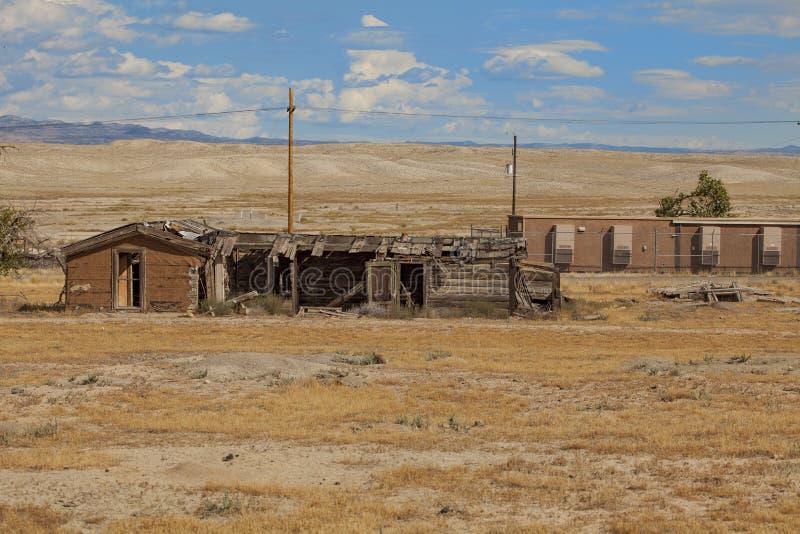 Casas abandonadas em Cisco em Utá imagem de stock