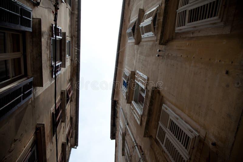 Casas anciant de Zadar imagem de stock royalty free