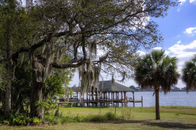 Casas barco, la Florida imágenes de archivo libres de regalías