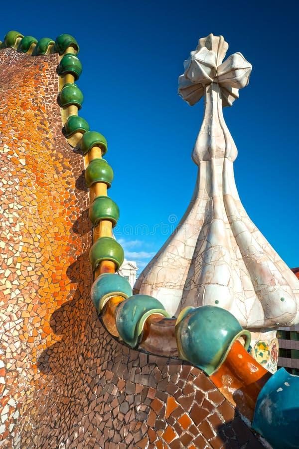 Casas Batllo, Barcelona, Spain. fotos de stock royalty free