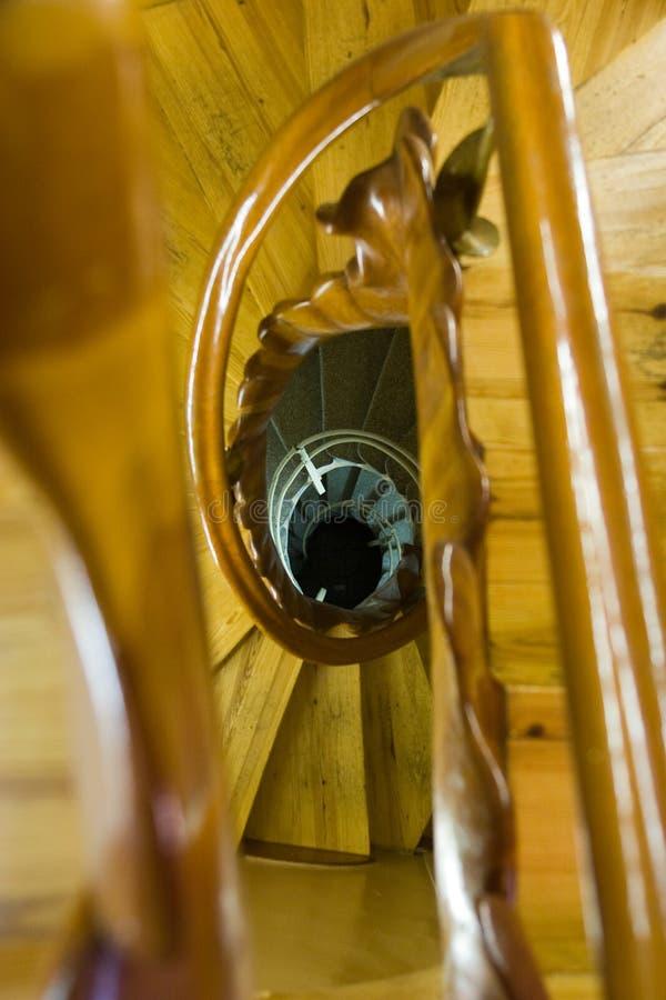 Casas Batllo - escaleras espirales fotografía de archivo libre de regalías