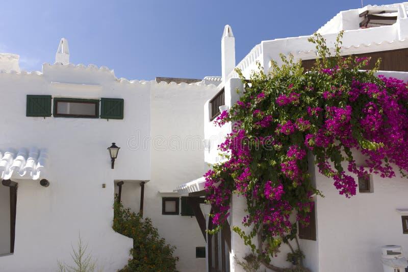 Casas Brancas. Fotografia de Stock