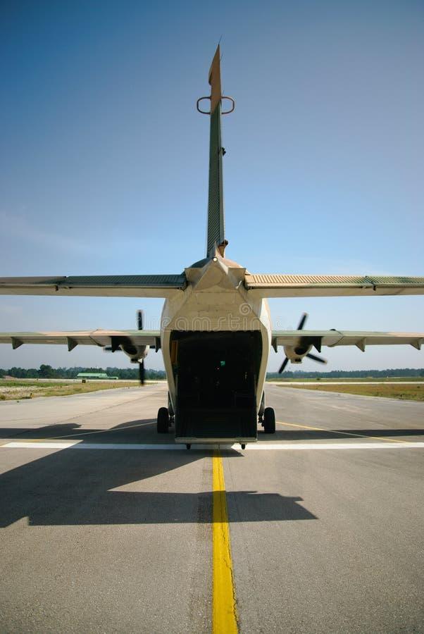 CASAS C-212 Aviocar fotografia de stock royalty free