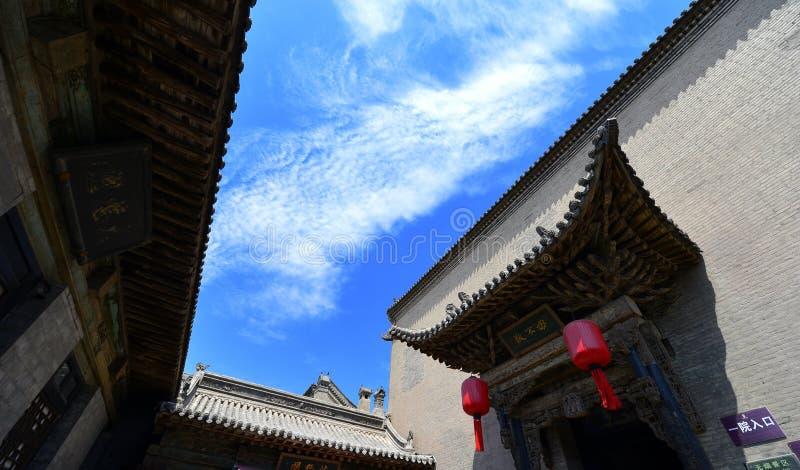 Casas chinas antiguas fotografía de archivo libre de regalías
