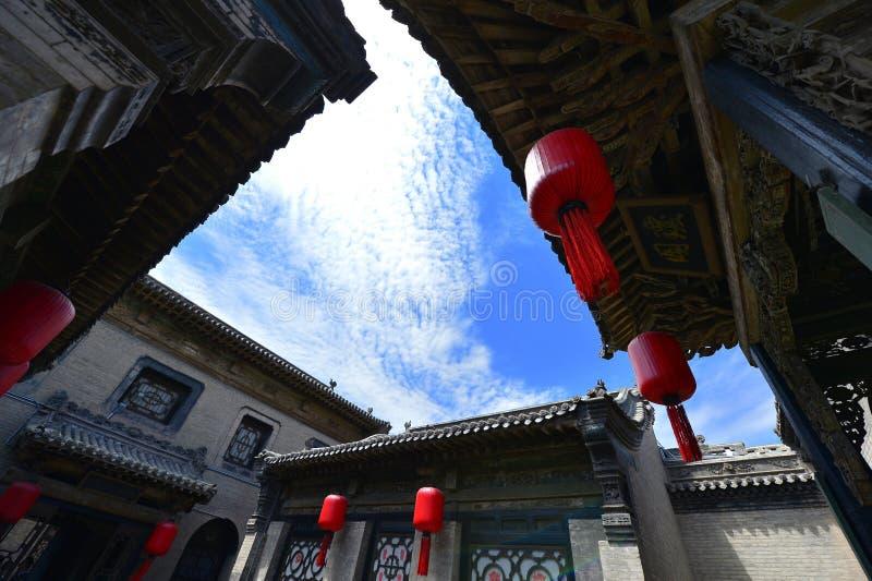 Casas chinas antiguas imagen de archivo