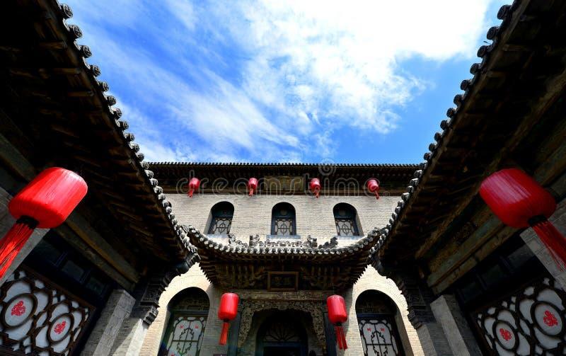 Casas chinas antiguas imágenes de archivo libres de regalías