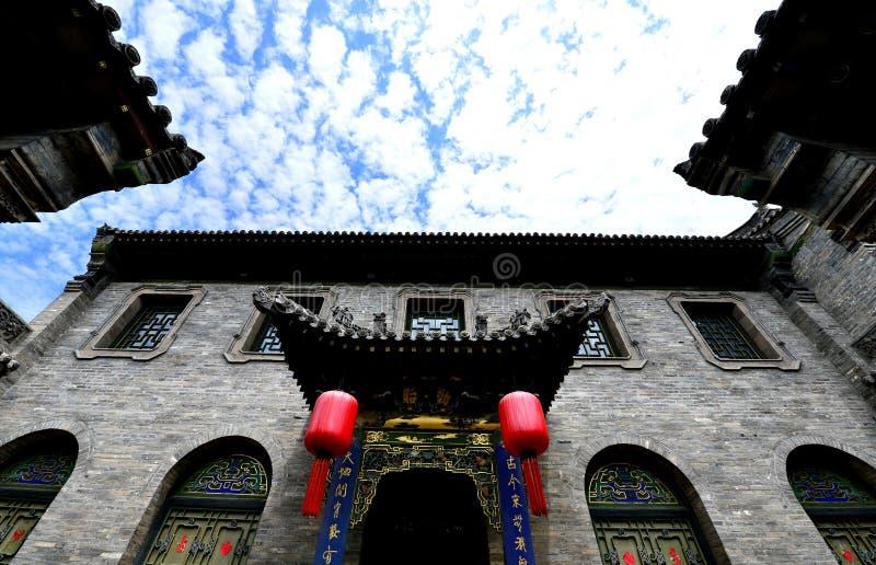 Casas chinas antiguas fotografía de archivo