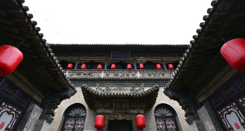 Casas chinas antiguas imagen de archivo libre de regalías