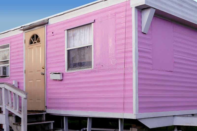 Casas coloridas de Key West en la Florida del sur imágenes de archivo libres de regalías
