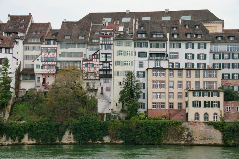 Casas de Basileia imagens de stock royalty free