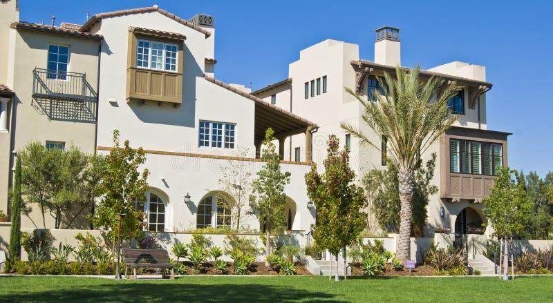 Casas de Califórnia imagem de stock royalty free