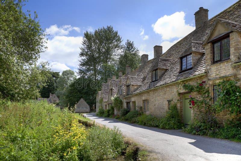 Casas de campo de Cotswold fotografia de stock royalty free