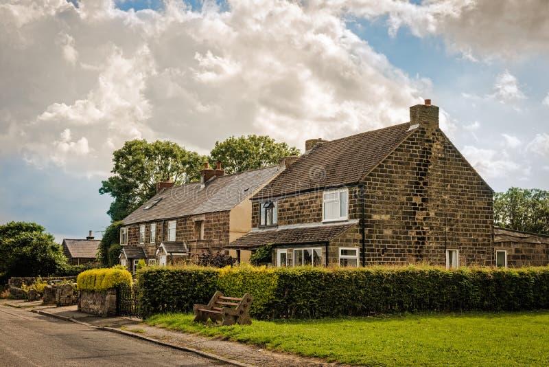 Casas de campo de Derbyshire fotografia de stock royalty free