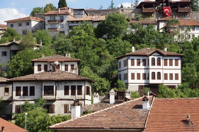 Casas de campo turcas del konak del viejo estilo imagen de archivo