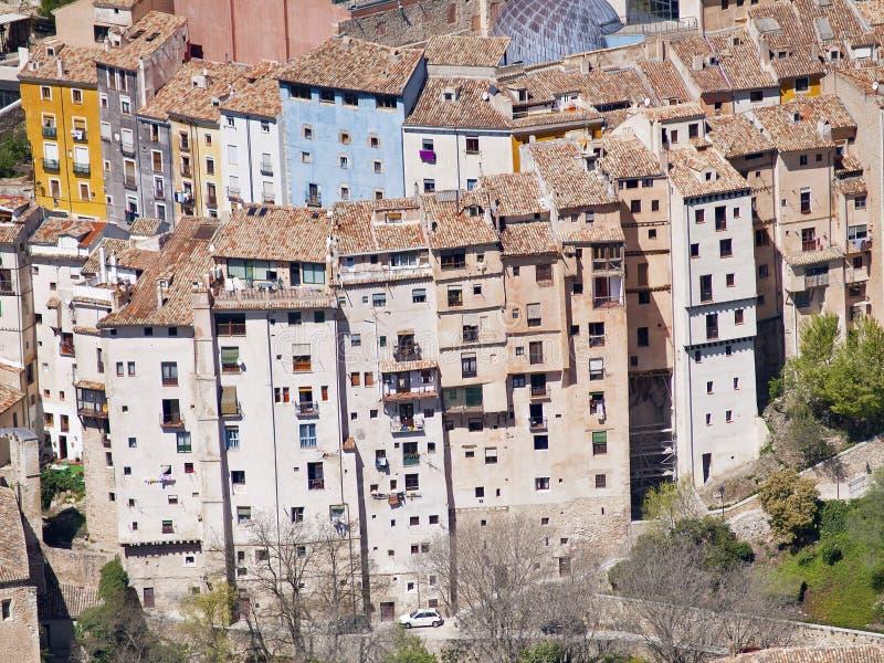 Casas de Cuenca, España fotos de archivo libres de regalías