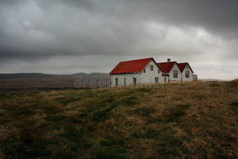 Casas de Islandia fotografía de archivo