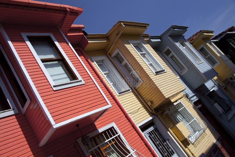Casas de Istambul fotos de stock