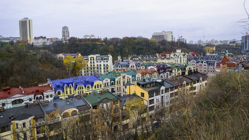 Casas de la ciudad de la élite imágenes de archivo libres de regalías