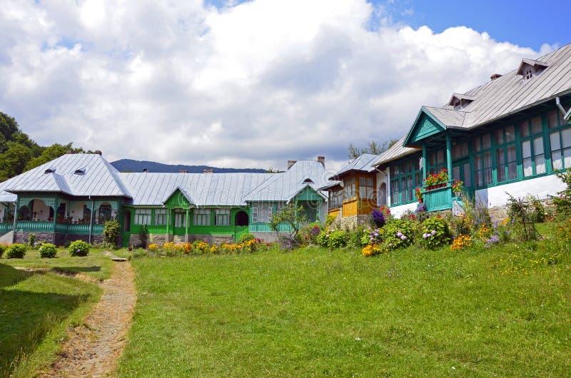 Casas de las monjas en Suzana imagen de archivo libre de regalías