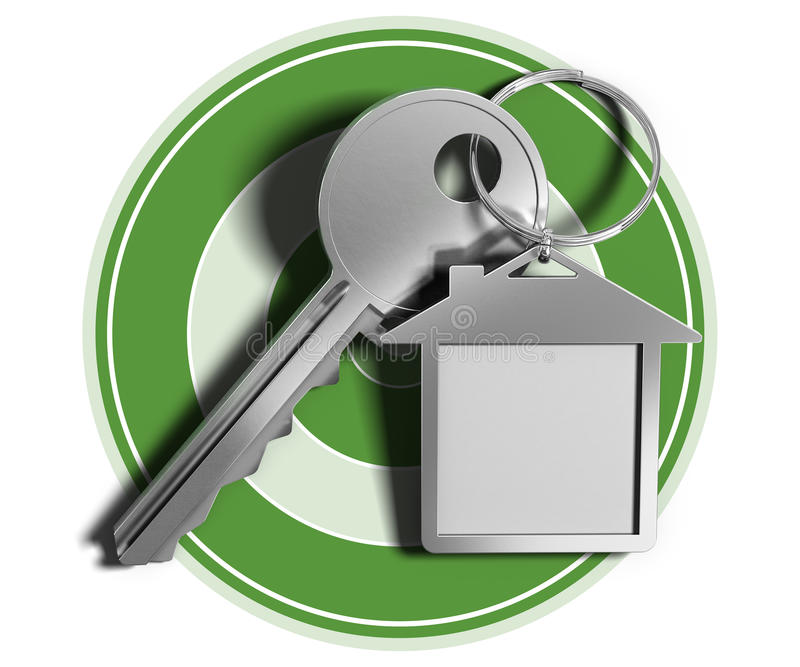 Casas de las propiedades inmobiliarias?, planos para la venta o para el alquiler ilustración del vector