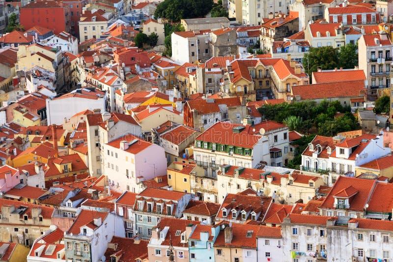 Casas de Lisboa fotos de archivo libres de regalías