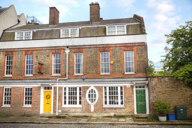 Casas de Londres imagen de archivo