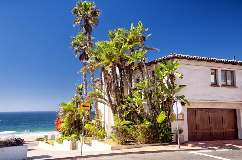 Casas de Manhattan Beach Califórnia imagens de stock royalty free