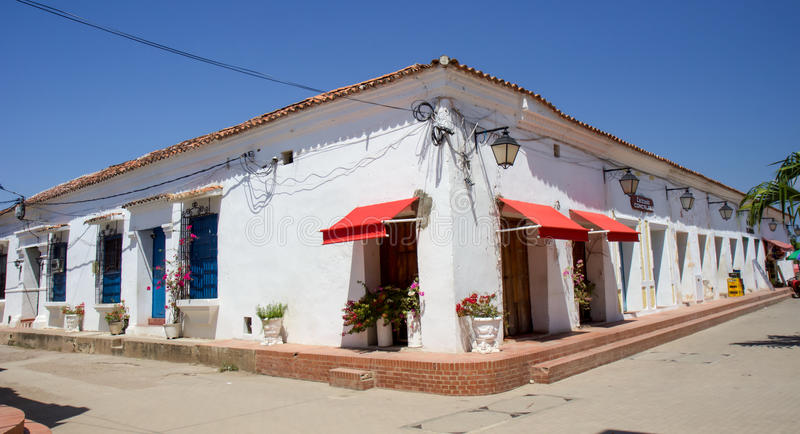 Casas de Mompos fotografia de stock royalty free
