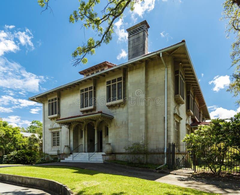 Casas de Nova Orleães imagem de stock