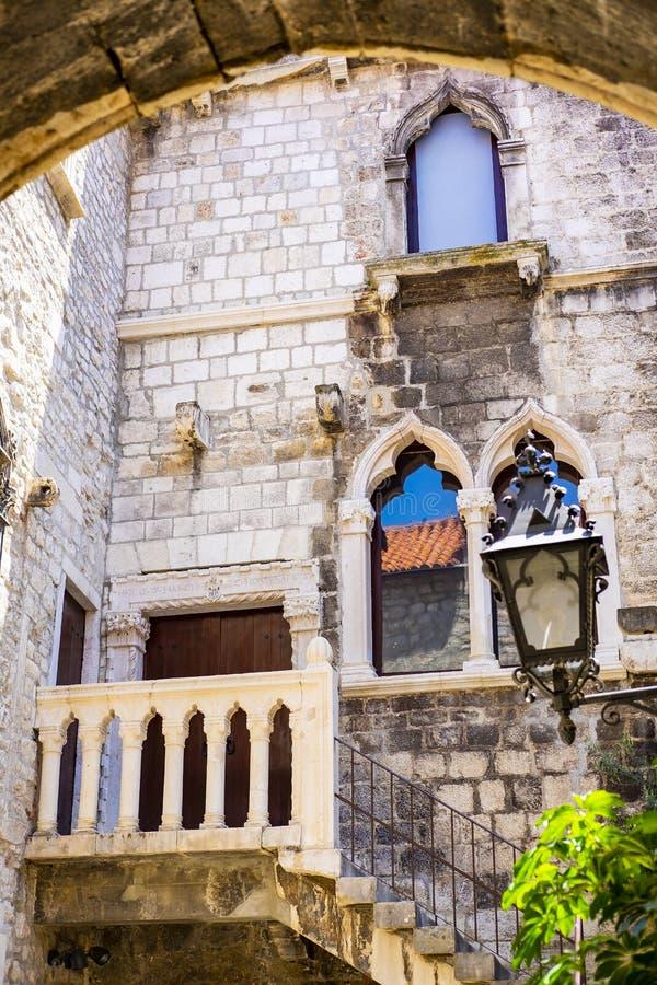 Casas de pedra imagem de stock