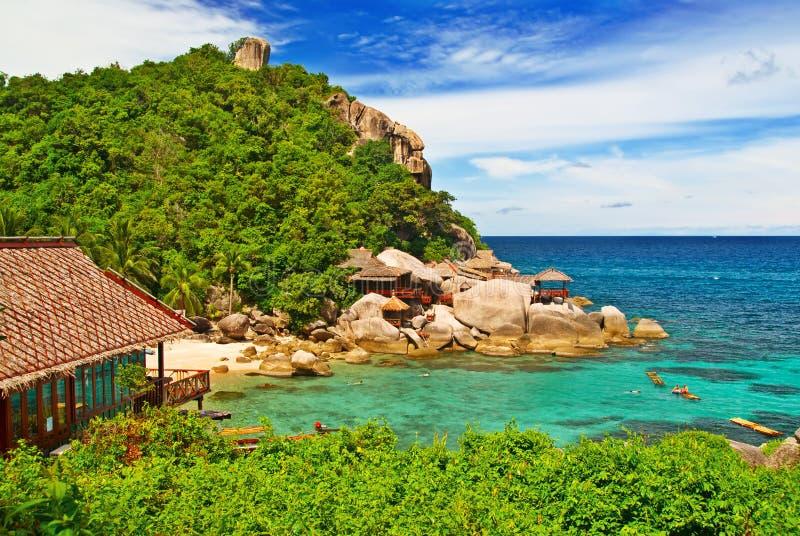 Casas de praia imagens de stock royalty free
