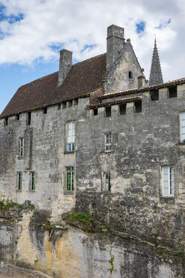 Casas de Saint Emilion imagens de stock