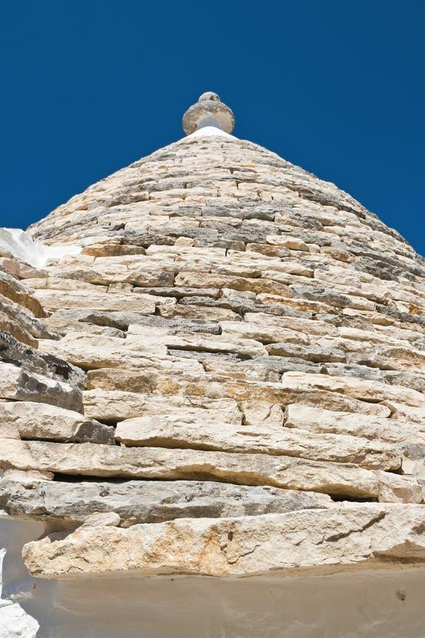 Casas de Trulli Alberobello Puglia Italy foto de stock