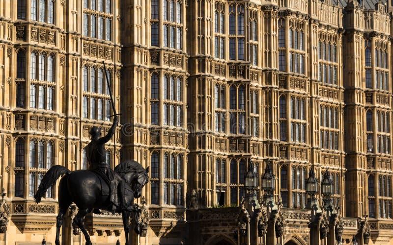 Casas de Westminster do parlamento imagem de stock