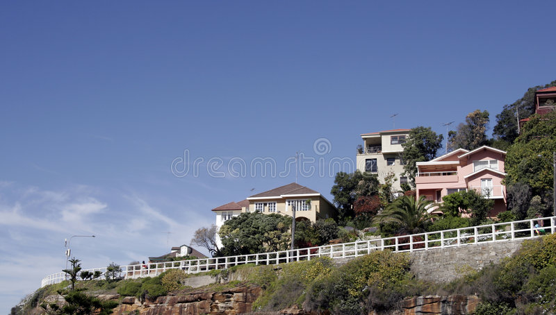 Casas do monte imagem de stock royalty free