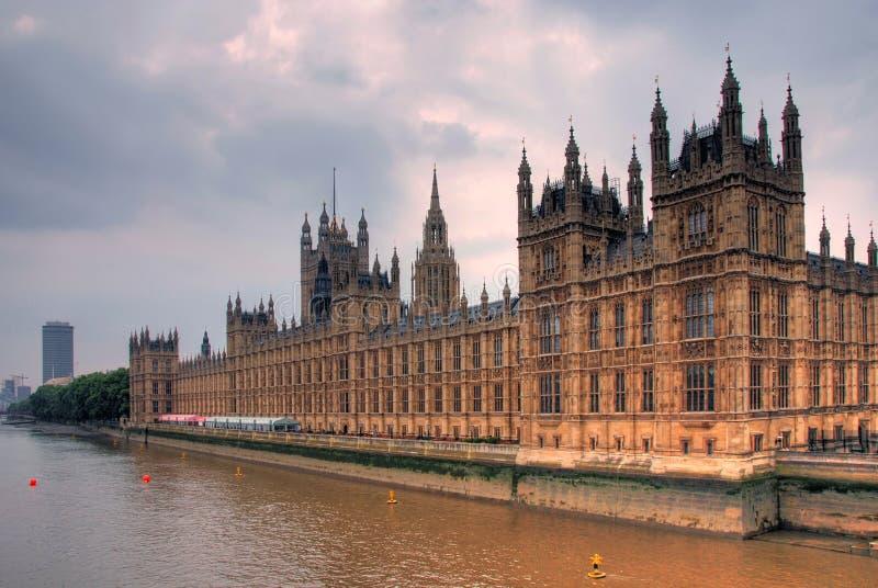 Casas do parlamento fotos de stock