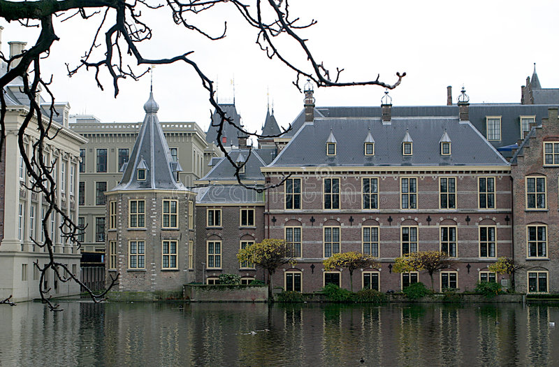 Casas do parlamento e da torre fotos de stock royalty free